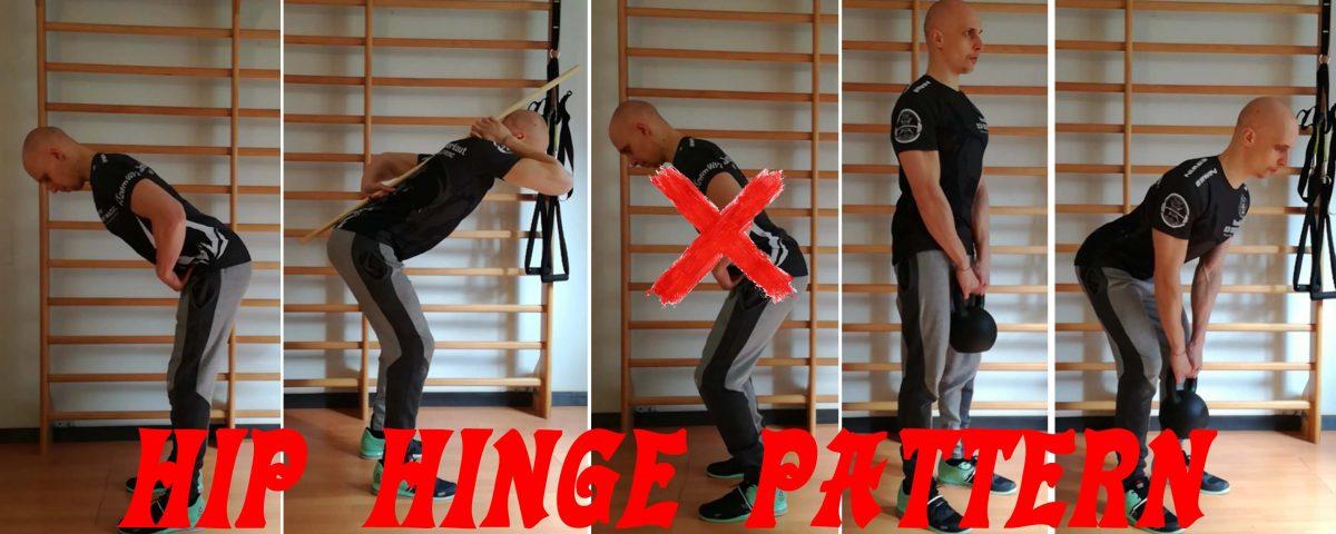 hip hinge pattern
