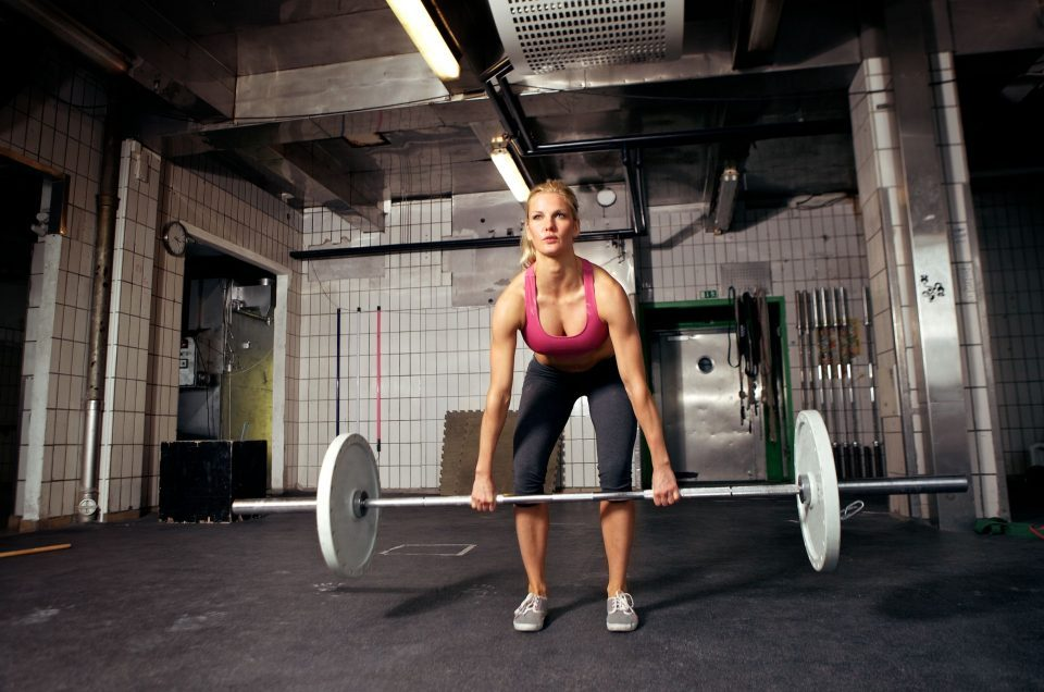 female deadlift